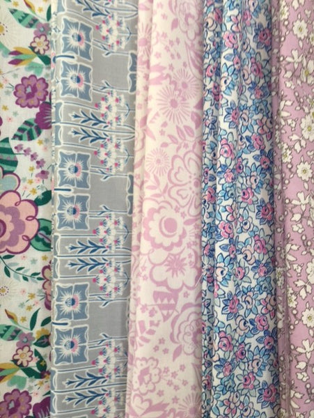 Liberty - Deco Dance - 5 x Fat Quarter Pack (2)