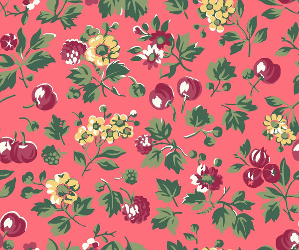 Liberty - Orchard Garden Collection - Wild Cherry X (pink)
