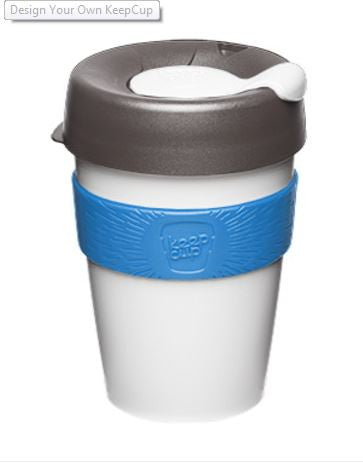 Bicycle re-usable keepcup