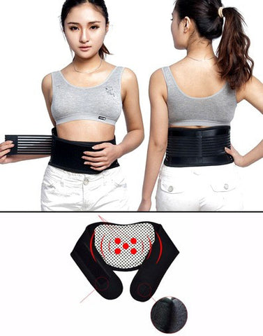 Back Waist Magnetic Self Heating Adjustable Belt