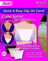 Cami Secret - Clip-On Mock Camisoles