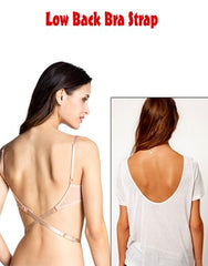 Low back bra straps - Set of 3