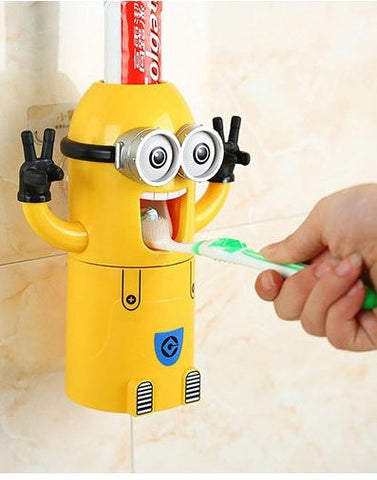 Minions Toothpaste Dispenser