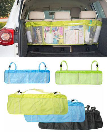 Multi Pocket Trunk or Back Seat Travel Storage Organizer