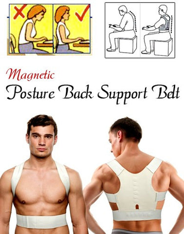 Adjustable Posture Support Belt