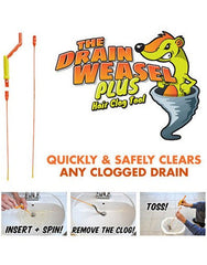 The Drain Weasel Sink Cleaner Brush