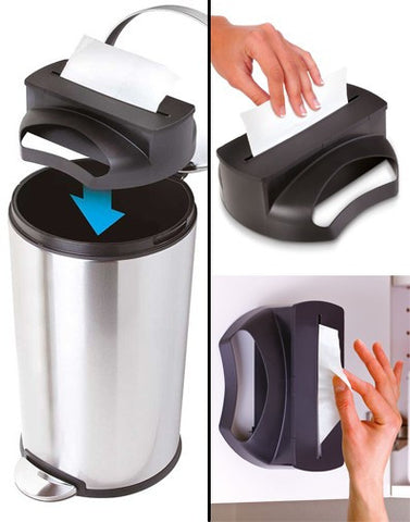 Trash Bin Bag Dispenser