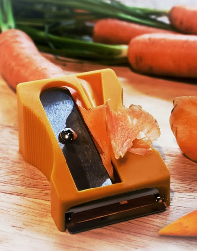 Vegetable Fruit Peeler & Slicer Sharpener Shaped Tool