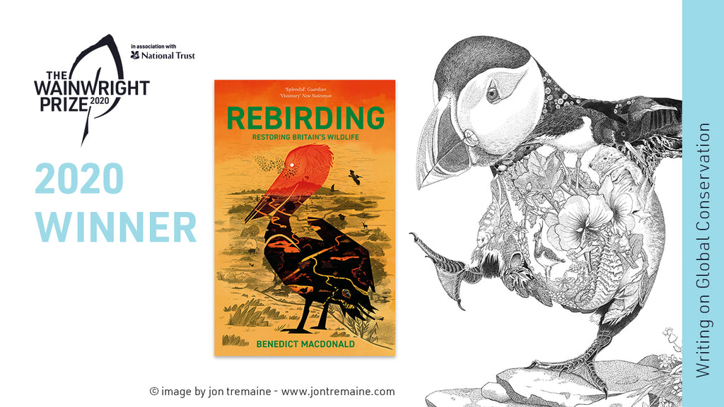 Rebirding wins the 2020 Wainwright Prize for Writing on Global Conservation