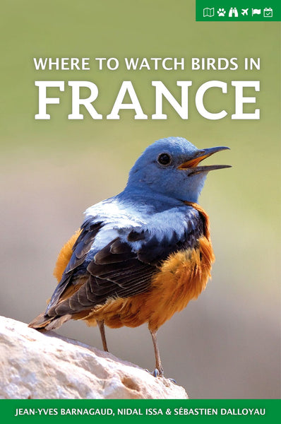 Where to Watch Birds in France - Pelagic Publishing