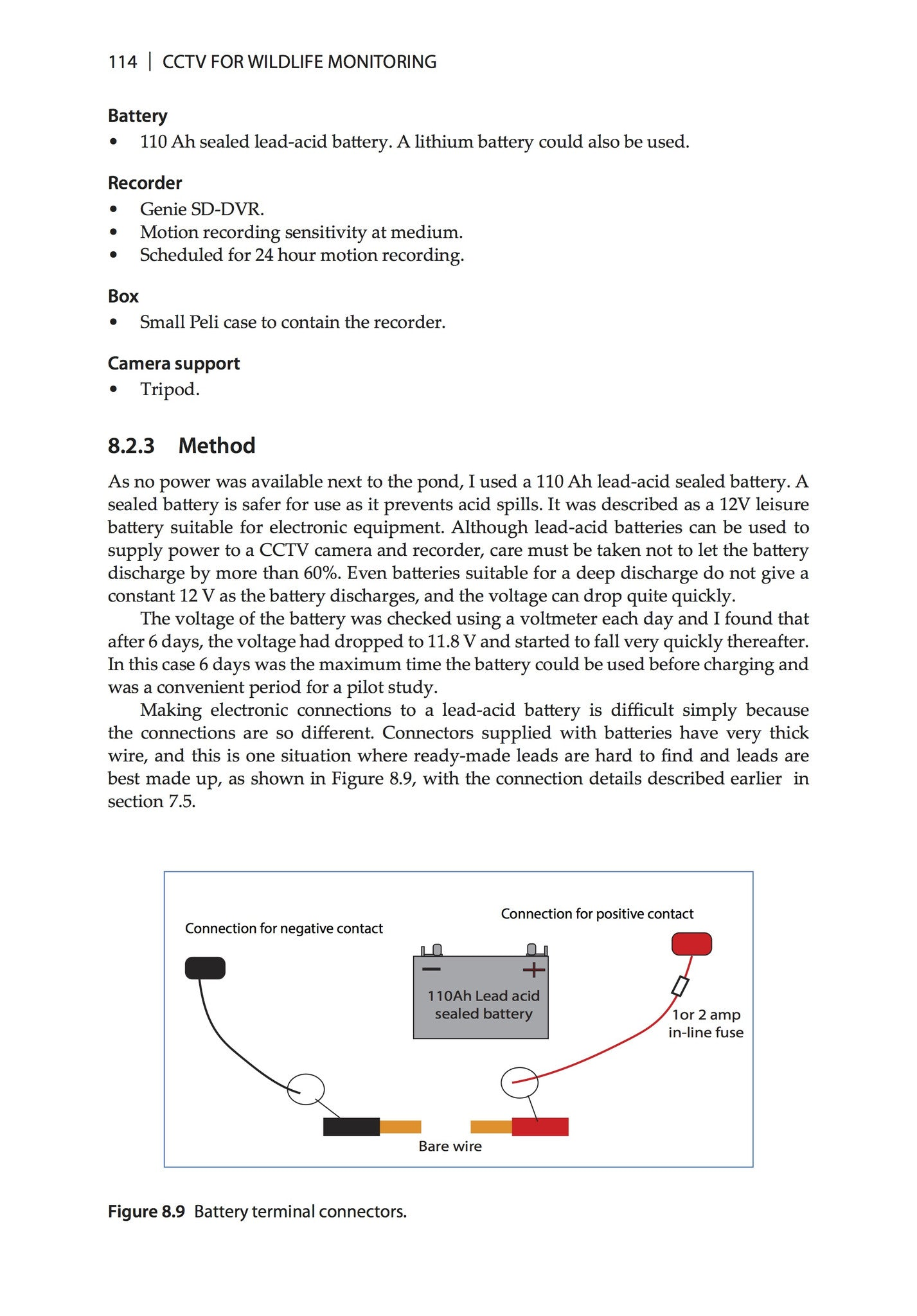 Cctv For Wildlife Monitoring Pelagic Publishing Wiring Diagram