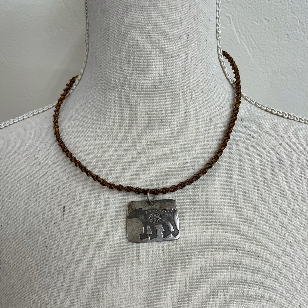 Wolfe Wind Moab Bear Necklace