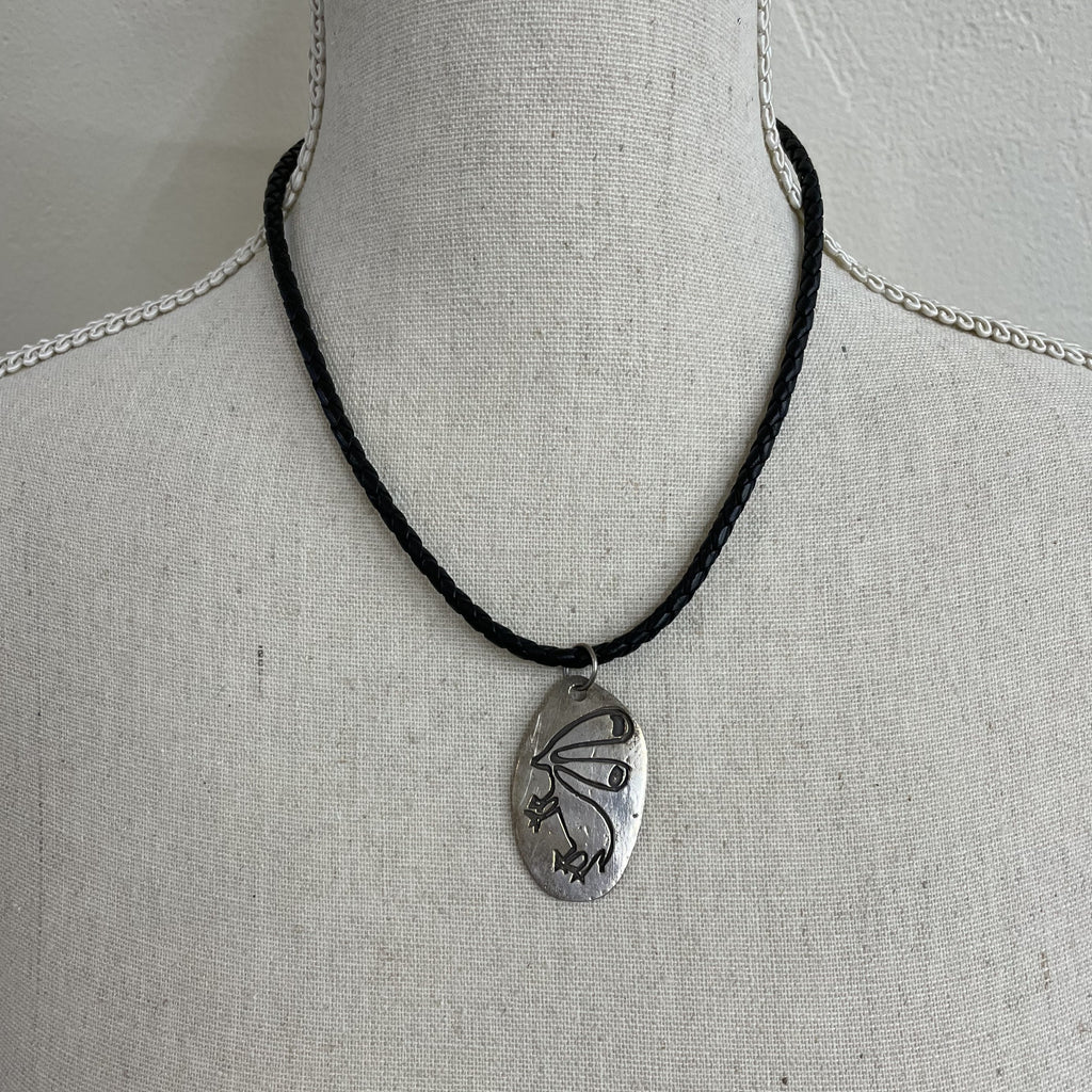 Wolfe Wind Moab Dinwoody Rabbit Necklace