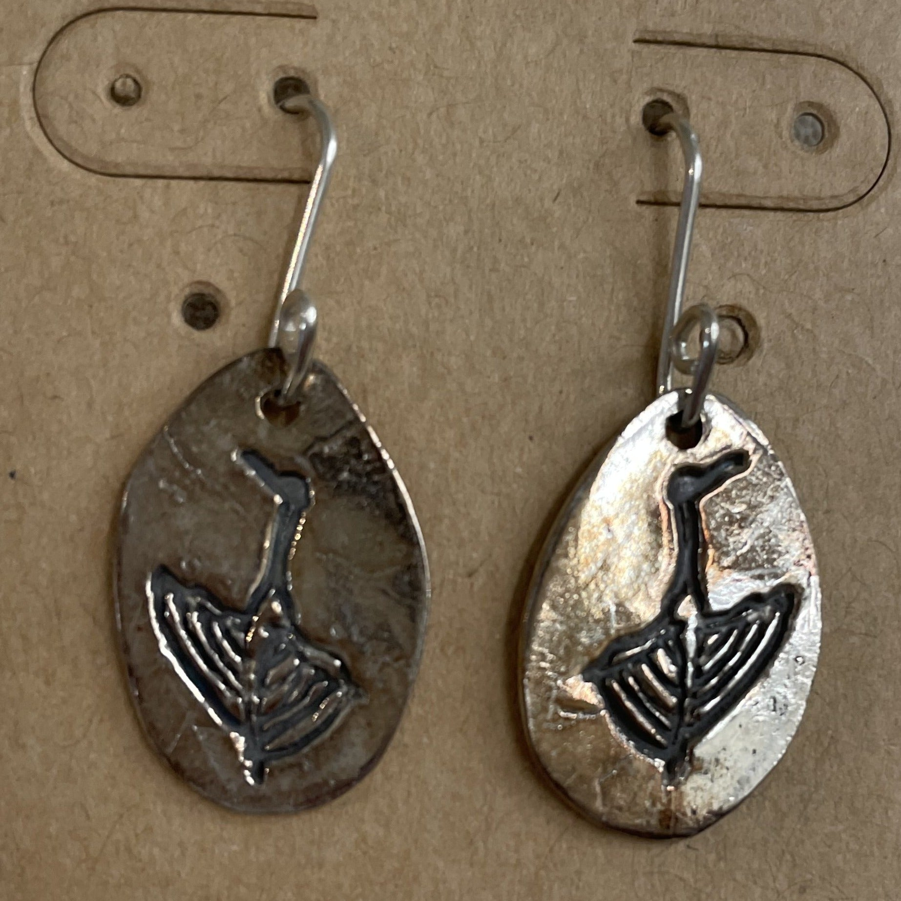 Wolfe Wind Crane Earrings