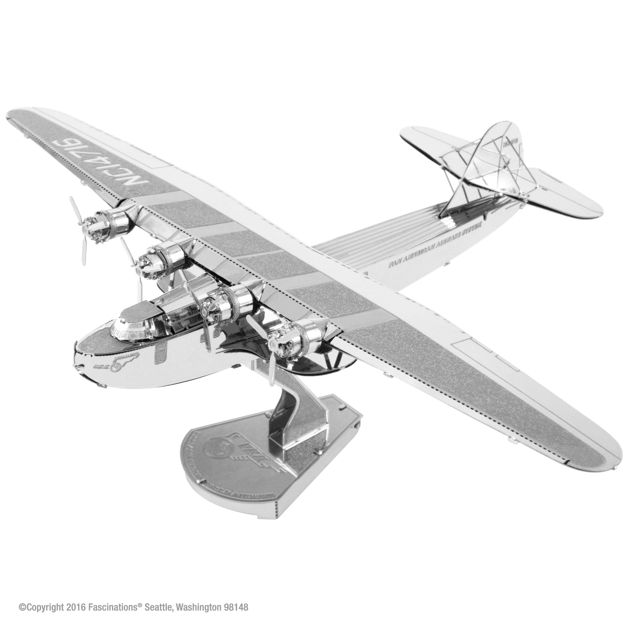 Aviation Metal Earth Models