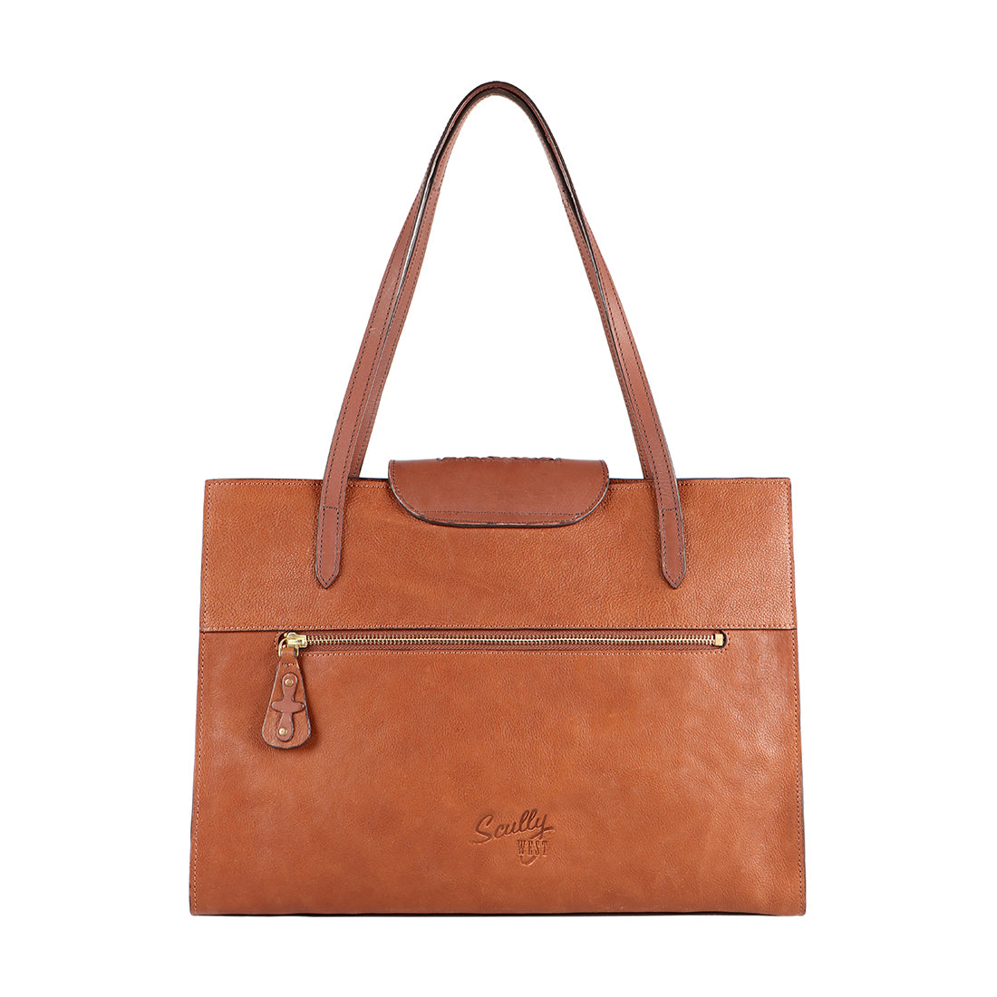 Scully West Leather Handbag