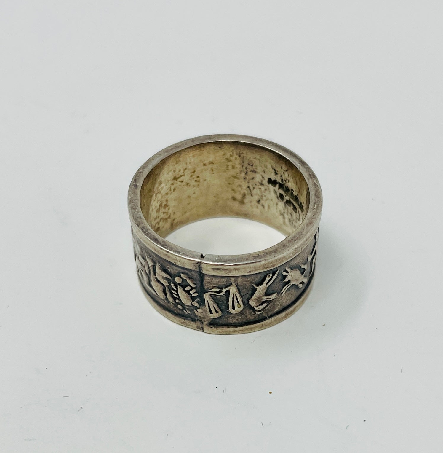 Vintage Astrological Ring