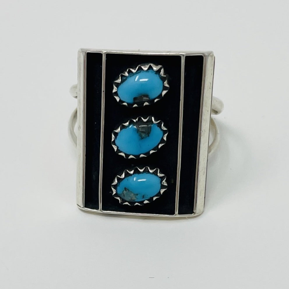 Navajo Ring w Turquoise