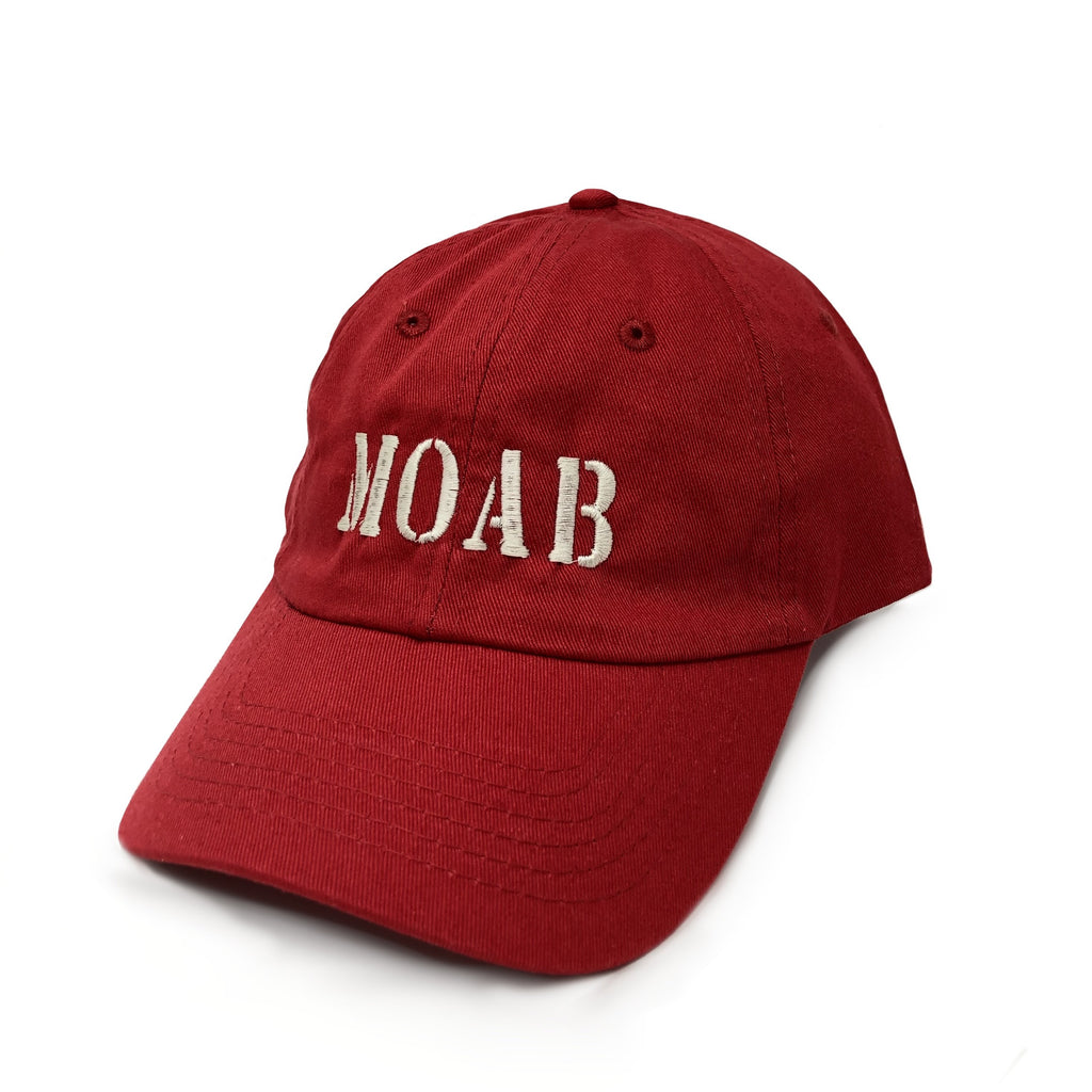 Youth Adj Hat Moab (Red)
