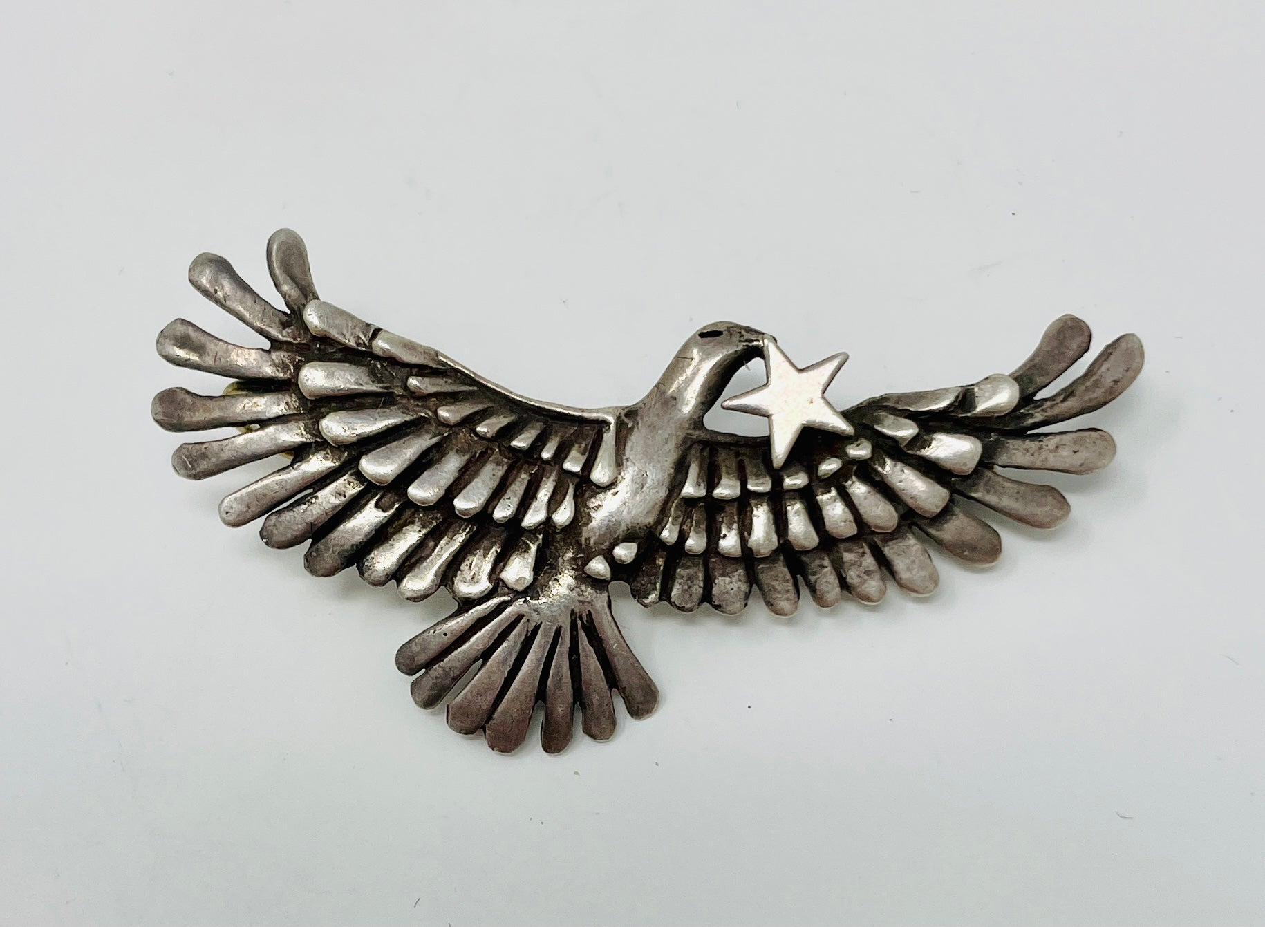 Navajo Eagle Pin