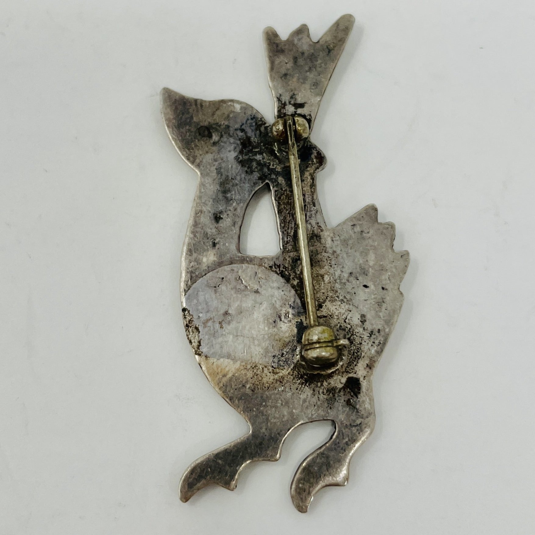 Navajo Sterling Bird Pin