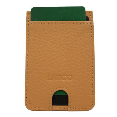 Credit Card Holder - Leather - Adhesive
