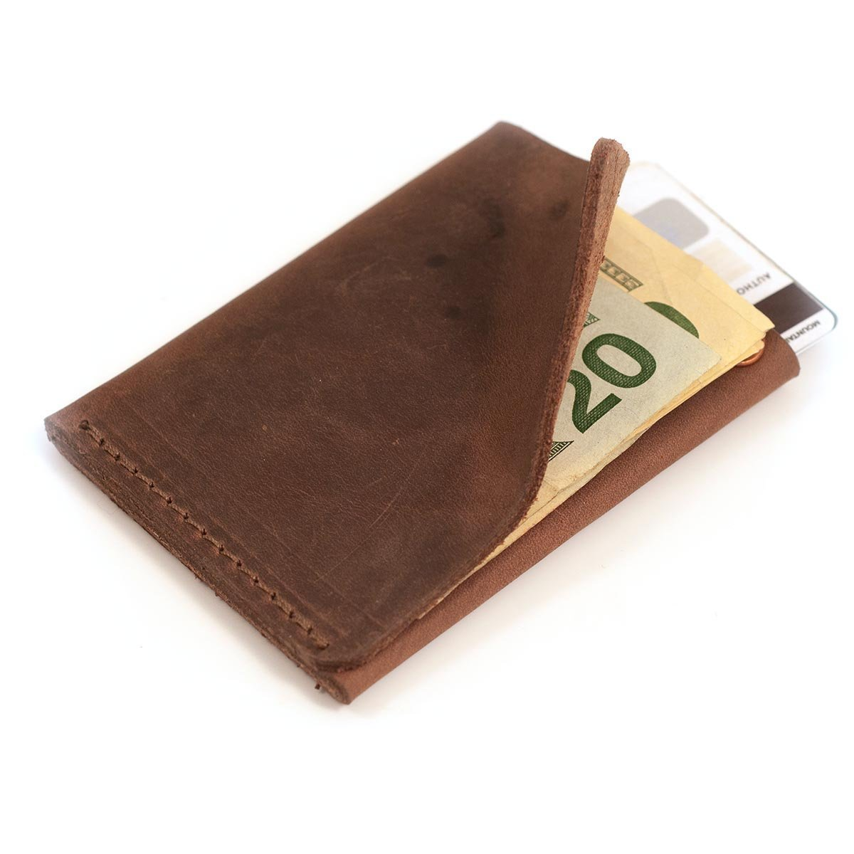 Wallet - Commuter Wallet - Dark Brown