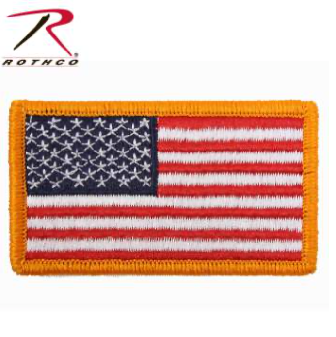 Patch - American Flag - Velcro