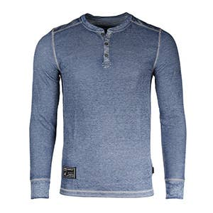 Long Sleeve Lightweight Athletic Henley