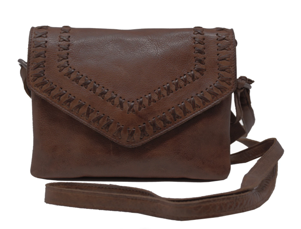 Keely Leather Crossbody