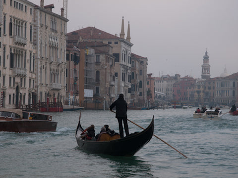 Gondola on the Grand canal, Vencie