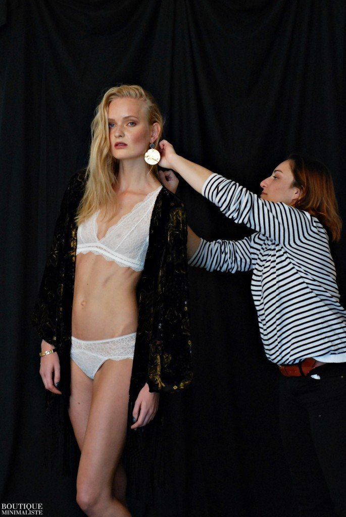 "BACKSTAGE AT ""PURE ALLURE"" FASHION EDITORIAL 