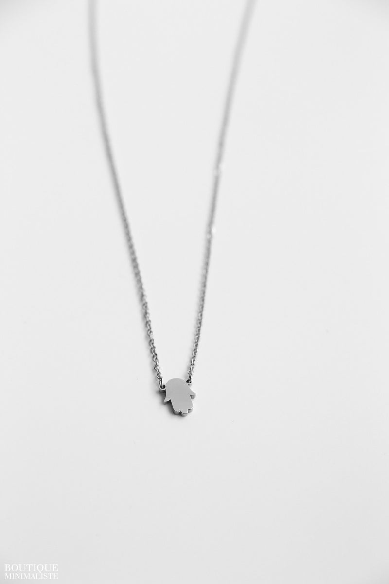 Hamsa Necklace - S.Steel