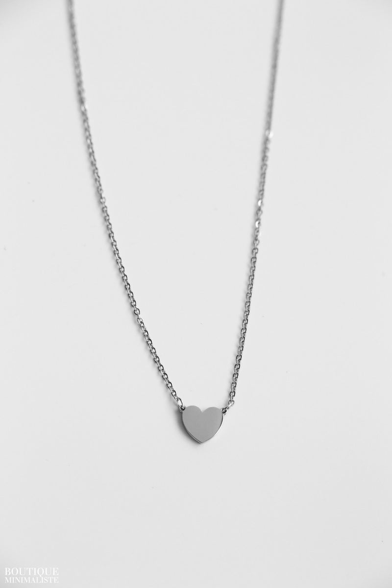 Heart Necklace - S.Steel