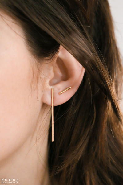 XL Bar Earrings