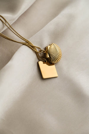Alicia Mirror Necklace - Boutique Minimaliste