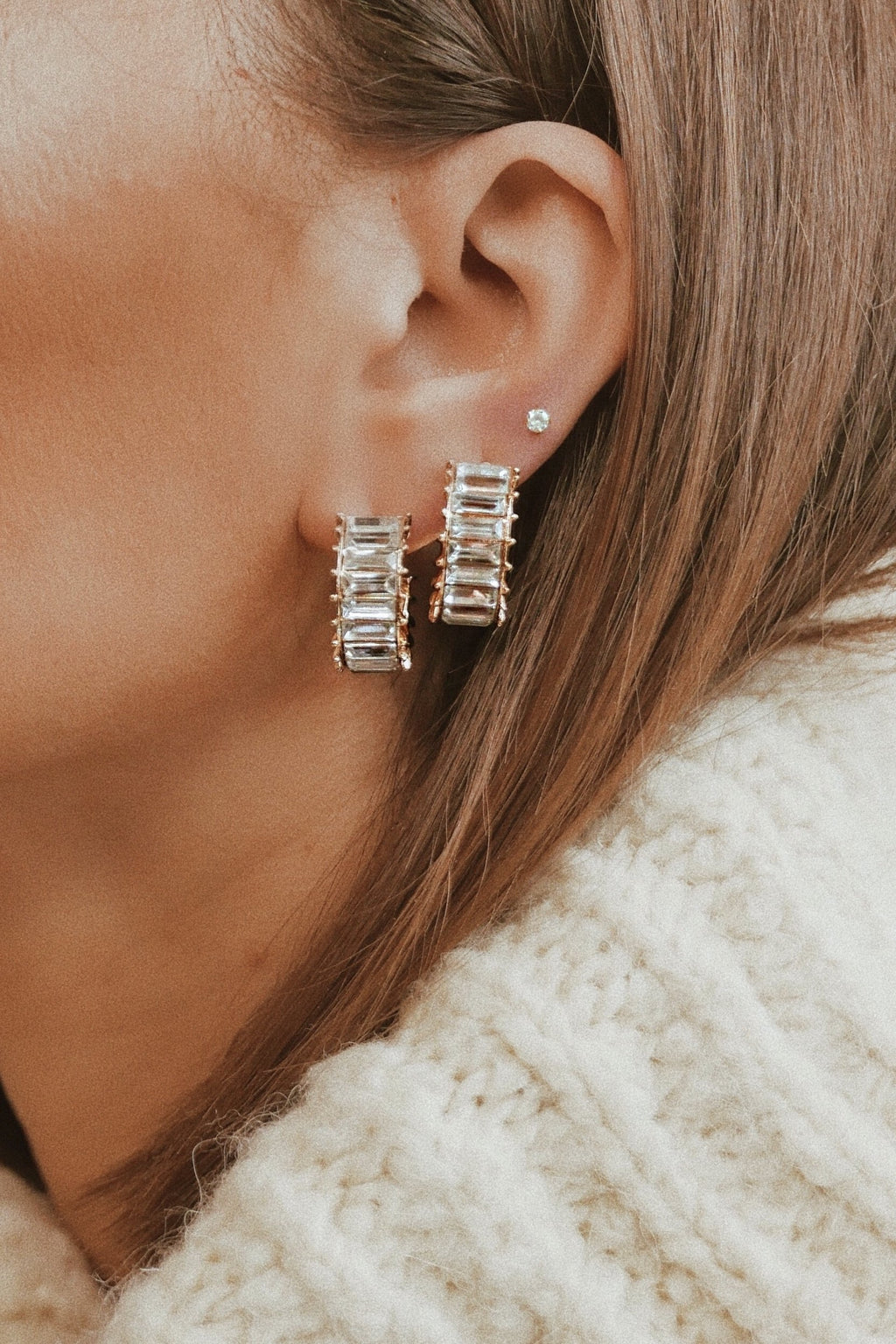 Alicia Stud Earrings - Boutique Minimaliste