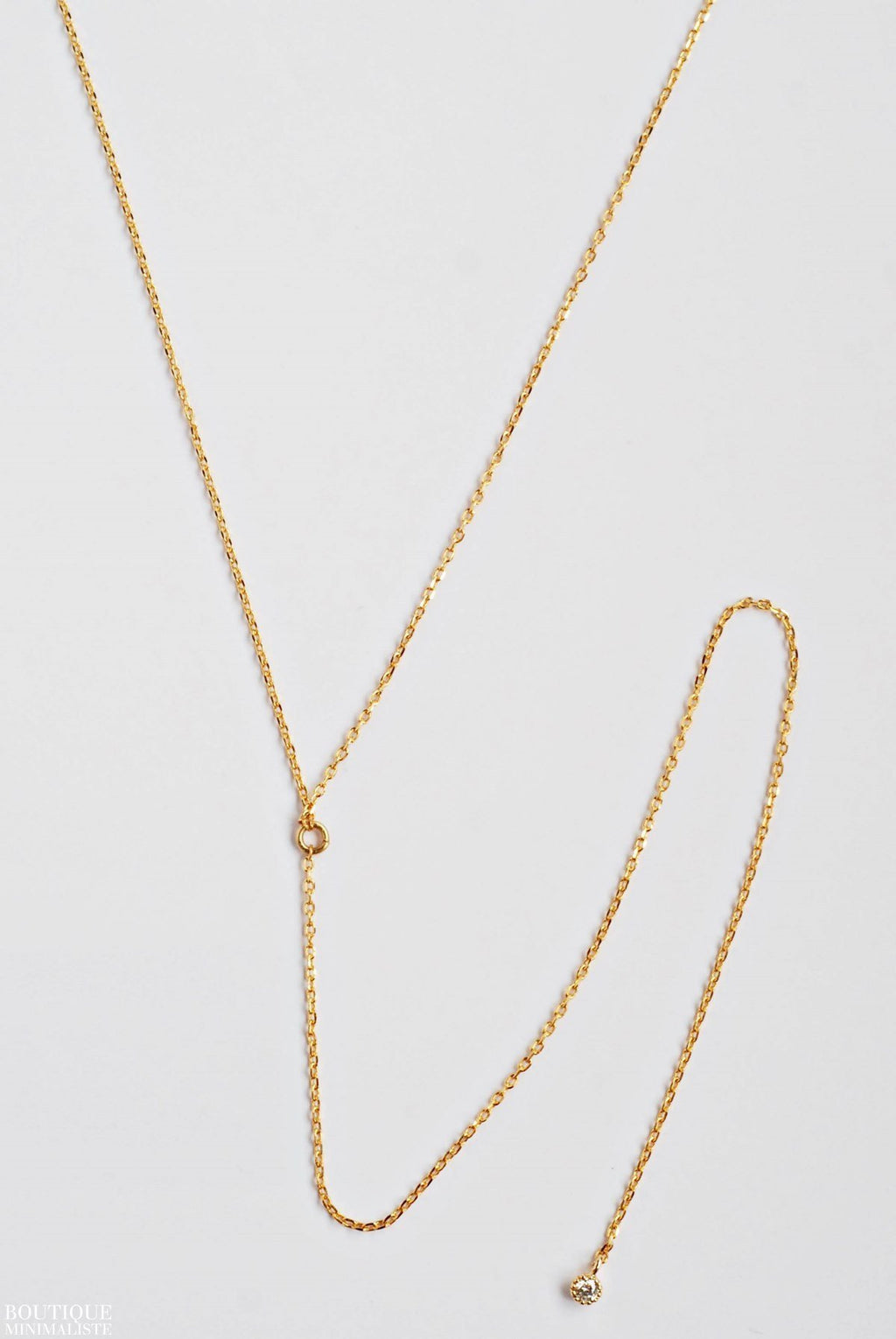 Basic Lariat Necklace - Boutique Minimaliste