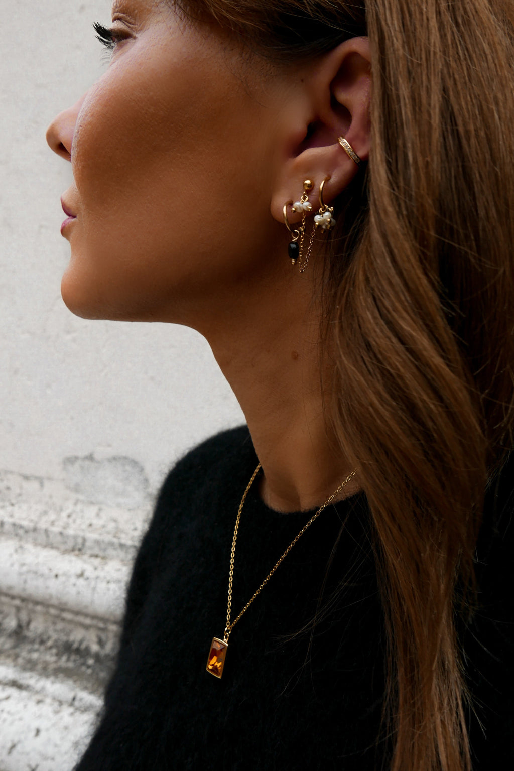 Beth Hoop Earrings - Boutique Minimaliste