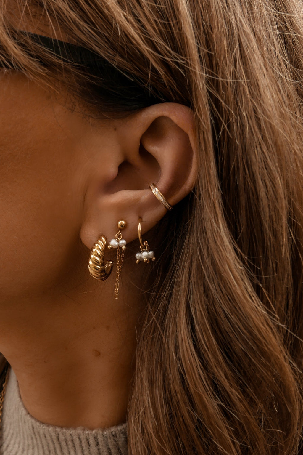Betty Hoop Earrings - Boutique Minimaliste
