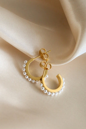 Bianca Hoop Earrings - Boutique Minimaliste
