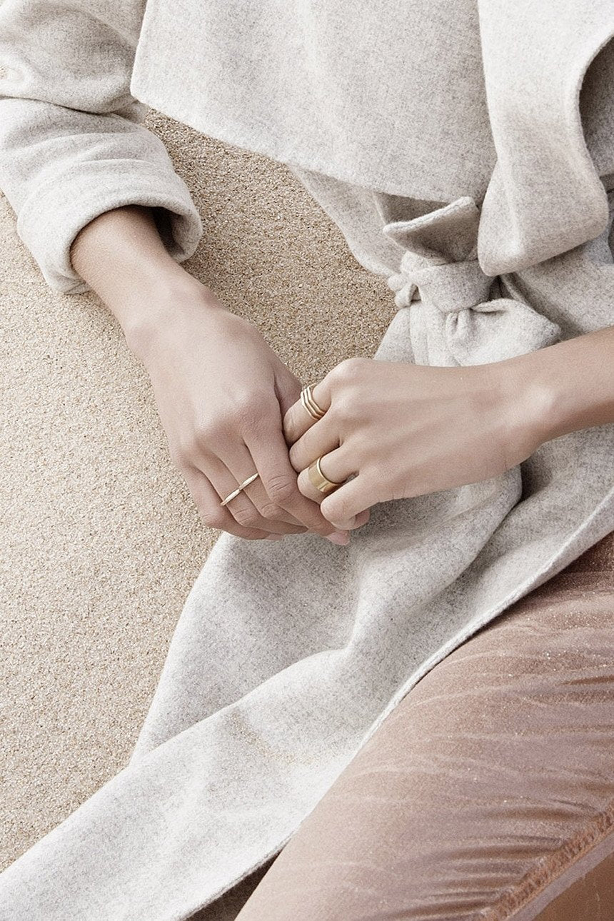 Bold Line Ring - Boutique Minimaliste