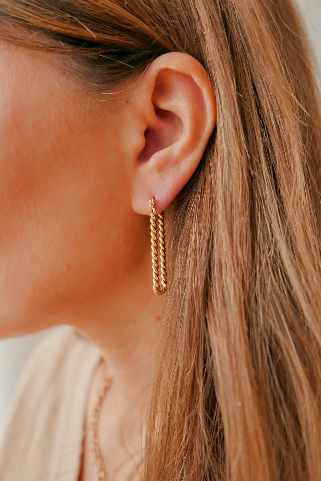 Cielo Hoop Earrings - Boutique Minimaliste