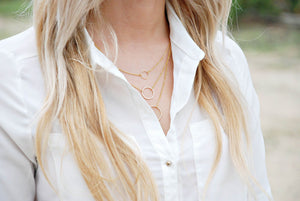 Circle Necklace - Boutique Minimaliste