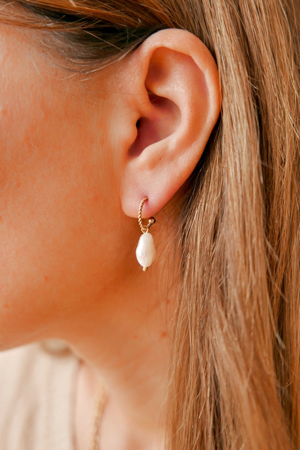 Clementine Hoop Earrings - Boutique Minimaliste