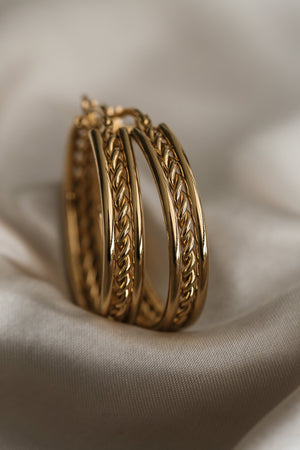 Colette Hoop Earrings - Boutique Minimaliste