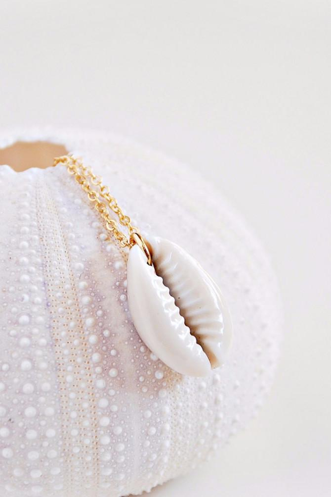 Cowrie Necklace - Boutique Minimaliste