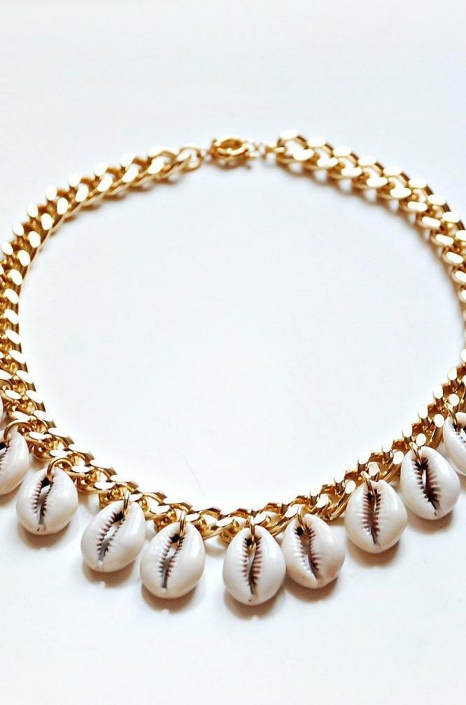 Cowries Necklace - Boutique Minimaliste