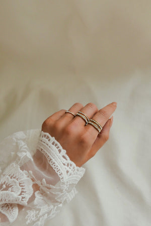 Crystal Ring - Boutique Minimaliste