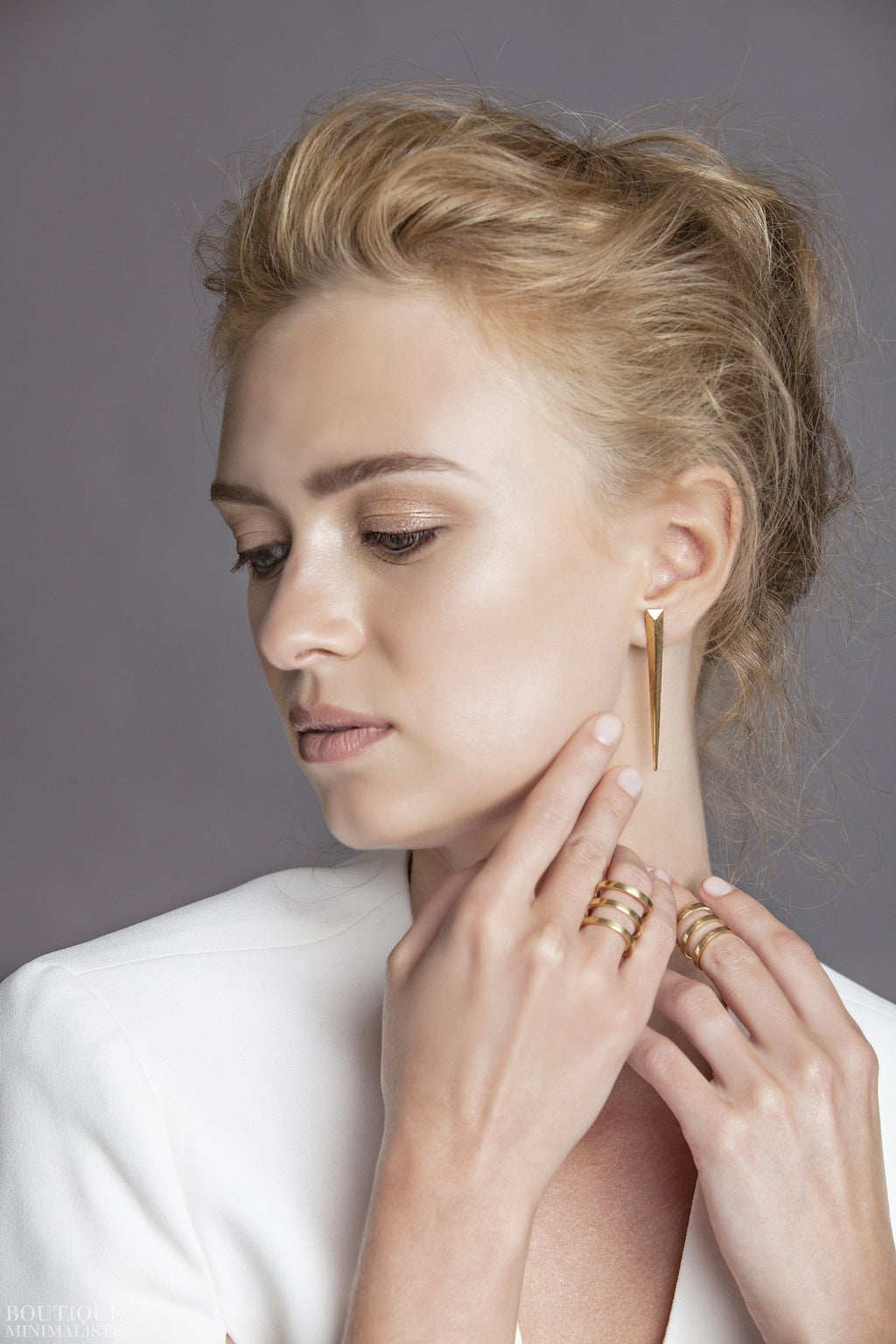 Dagger Earrings - Boutique Minimaliste